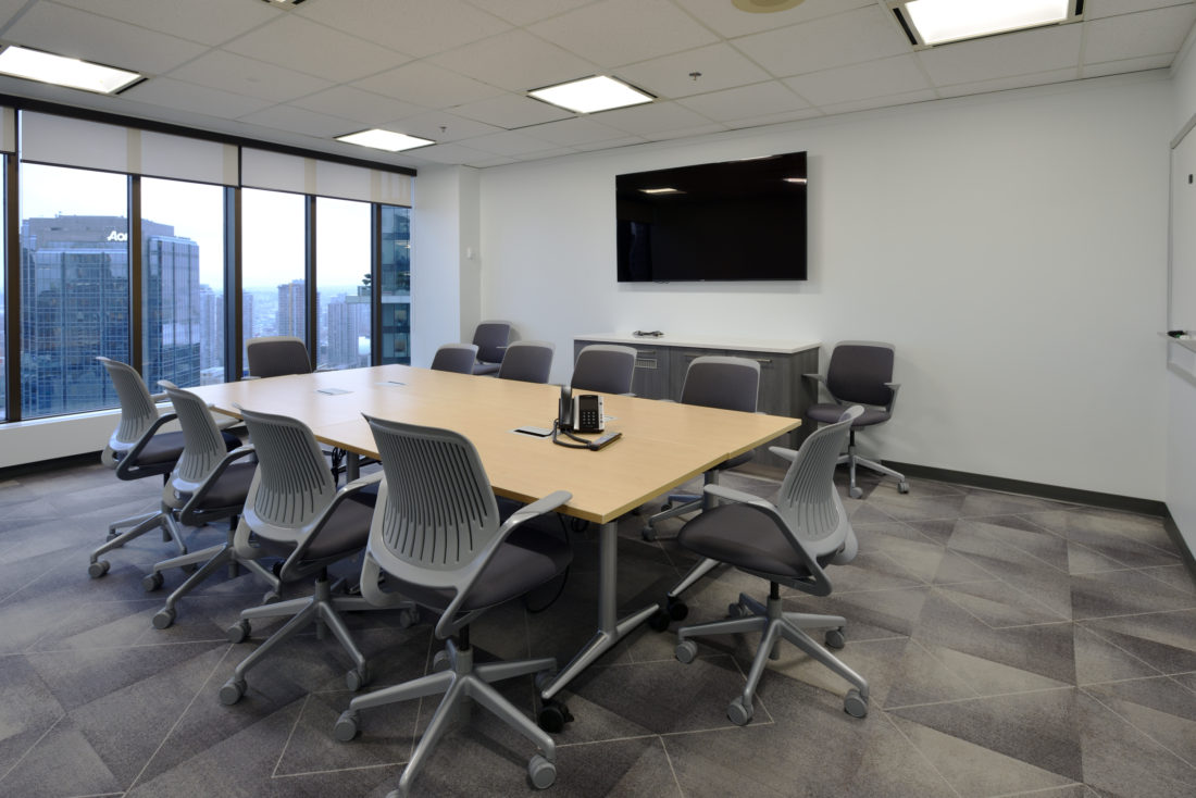 Vancouver Centre II Project Updates | Book a Quiet Room